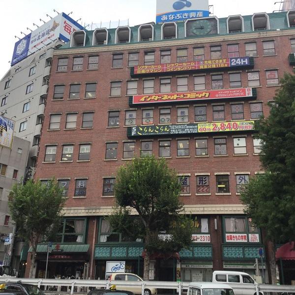 ★三宮駅前店_道1