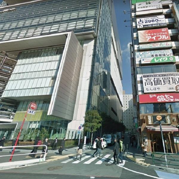 ★渋谷ヒカリエ前店_道1
