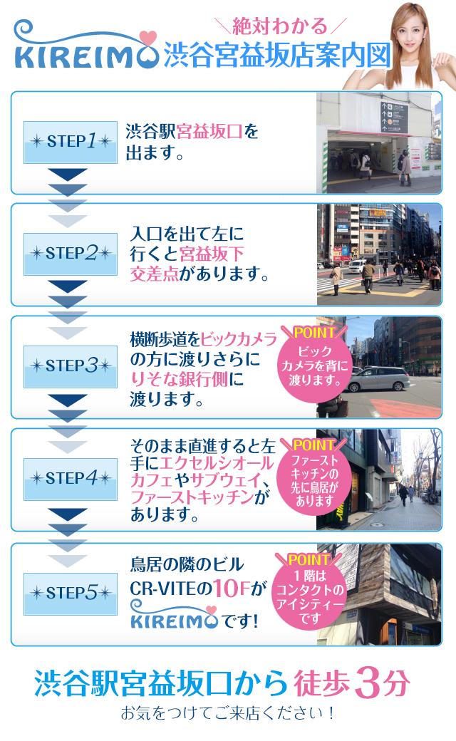 キレイモ渋谷宮益坂店